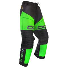 Oxdog Vapor Goalie Pants Black/Green Senior