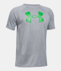 Under Armour Tech Big Logo Grey dětské tričko