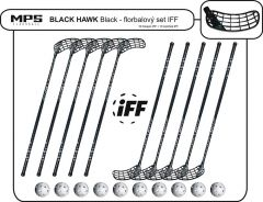 Set MPS Black Hawk Black (10 hokejek)