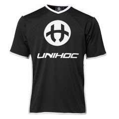 Unihoc Dominate Black/White JR tréninkový dres