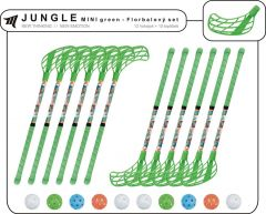 Set MPS Jungle Mini Green (10 hokejek)