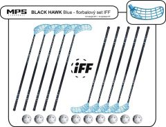 Set MPS Black Hawk Blue (10 hokejek)