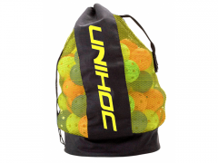 Unihoc Ballbag Black/Yellow vak na míčky