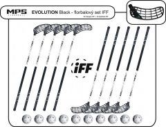 Set MPS Evolution White/Black (10 hokejek)