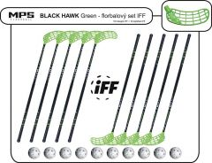 Set MPS Black Hawk Green (10 hokejek)