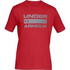 Under Armour Team Issue Wordmark SS Red