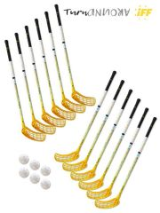 Eurostick TurnAround Junior IFF Set (12 hokejek)