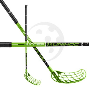 Unihoc WINNER 35 Black/Green