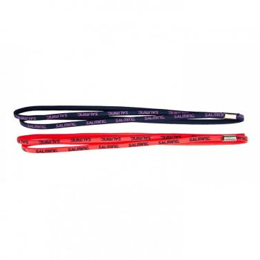Salming Twin Hairband 2-pack Coral/Navy