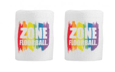 Zone Wristband Pride Edt. White 2-pack