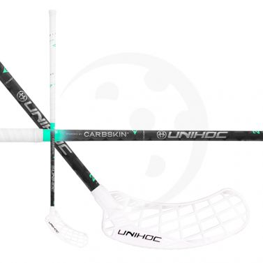 Unihoc Epic Carbskin Feather Light 29 White (testovací)
