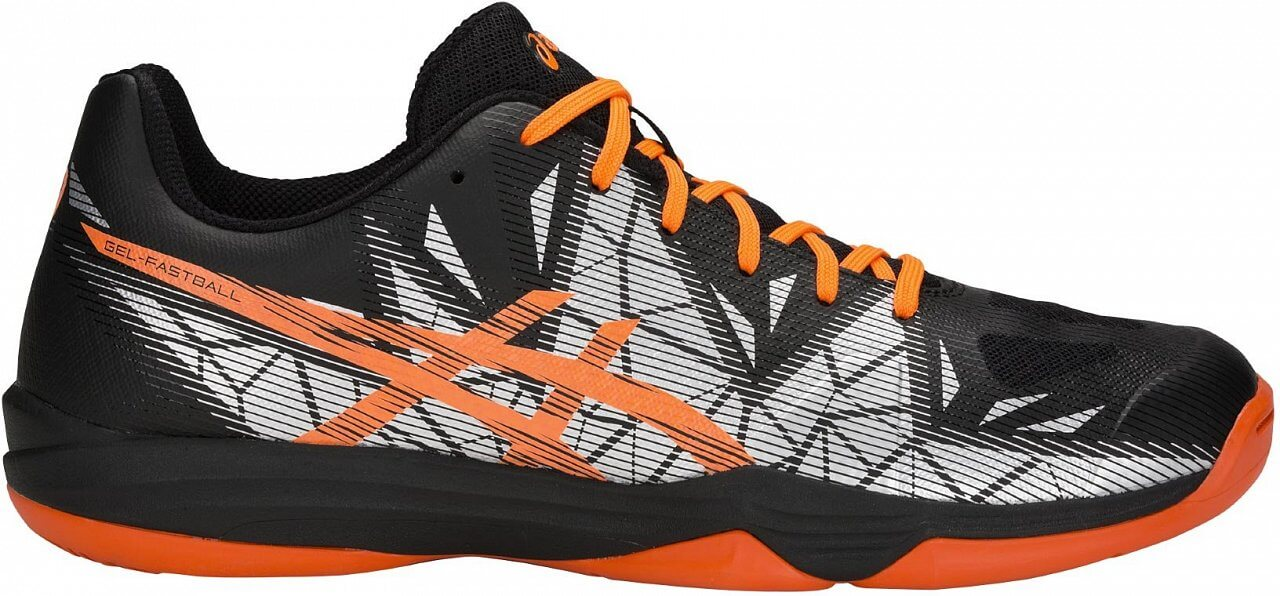 Asics Gel-Fastball 3 Black/Orange